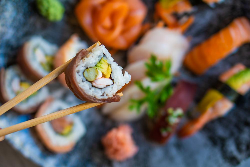 Sushi restaurants in Las Americas